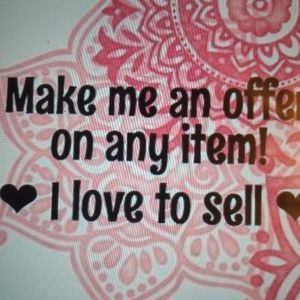 We love offers